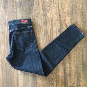 AG The Farrah Skinny High Waist Dark Wash Jeans